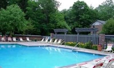 Pool, Shore Acres on the Monon Apartments, 1