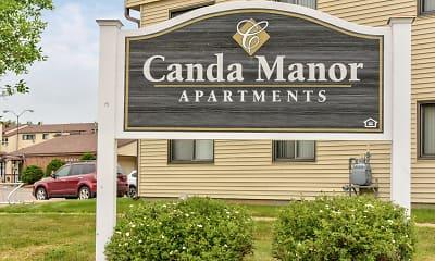 Community Signage, Canda Manor, 2