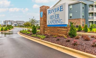 Community Signage, Revere at River Landing, 2