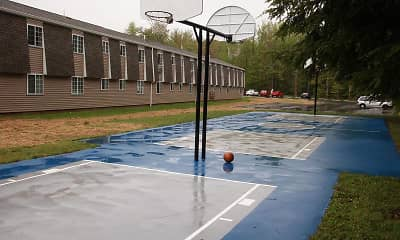 Basketball Court, Lake View Apartments, 2