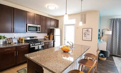 Kitchen, Summerfield Lofts, 0