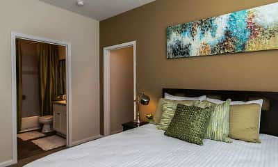Bedroom, Polo Commons, 2