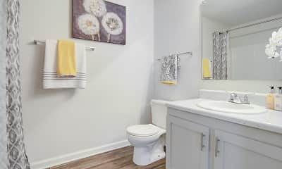 Bathroom, Riverstone Apartment Homes, 2