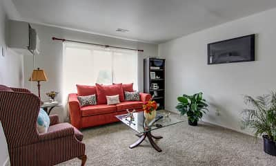 Living Room, Lexington Manor, 1