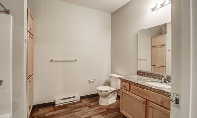 Bathroom, Lakewood Estates, 2
