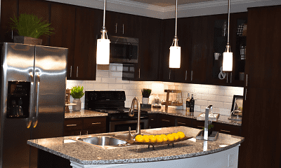 Kitchen, The Abbey at Dominion Crossing, 2