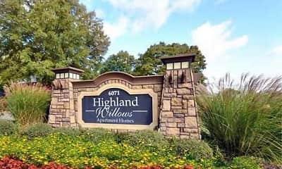 Community Signage, Highland Willows, 2
