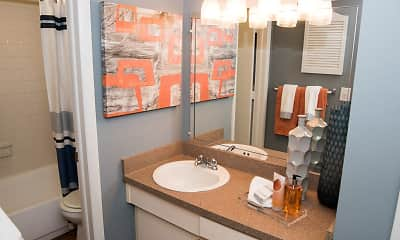 Bathroom, Ascott Place Apartments, 2