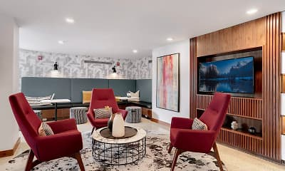 Living Room, Potomac Towers, 0