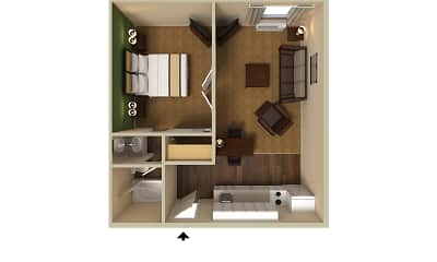 Furnished Studio - San Jose - Edenvale - South, 2