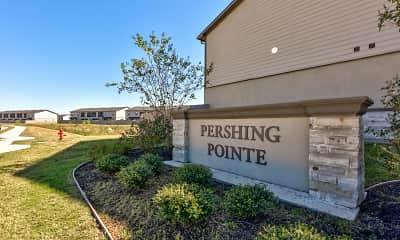Community Signage, Pershing Pointe Villas, 2