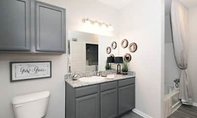 Bathroom, Landmark at Auburn Lakes, 2