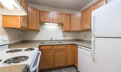 Kitchen, Sierra Ridge Apartments, 0