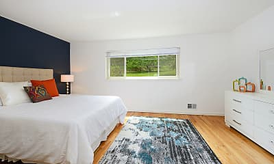 Bedroom, Summit Hill Apartments, 0