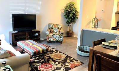 Living Room, PROSPER Azalea City, 2