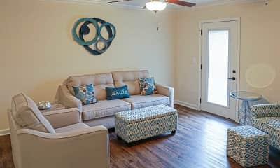 Living Room, Nicholas Place Apartments, 1