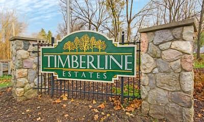 Community Signage, Timberline Estates, 2