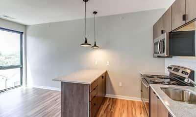 Kitchen, bos Apartments, 2