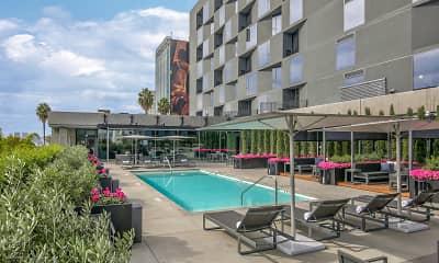 Pool, The Apartment Residences at AKA, 0
