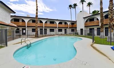 Pool, Tides on University, 1