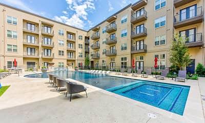 Pool, Lucia Apartments, 2