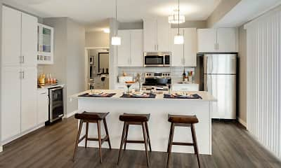 Kitchen, Galante at Parkside, 1