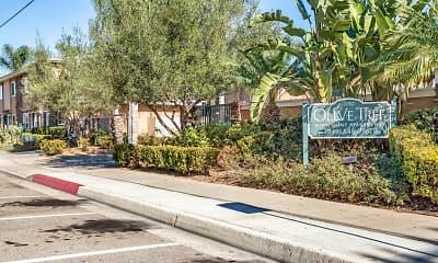 Community Signage, Olive Tree, 0