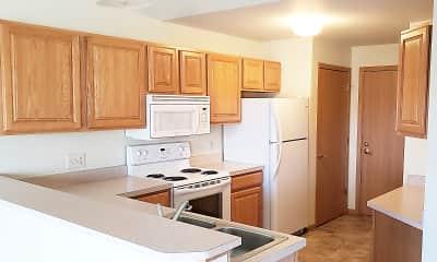 Kitchen, Prairie Crest Apartment Homes, 2