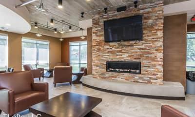 Living Room, T-Lofts Apartments, 1