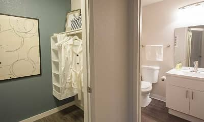 Bathroom, City Park Apartments, 2