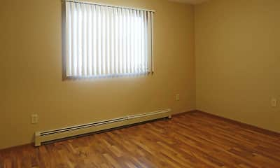 Bedroom, Hidden Valley Apartments, 2
