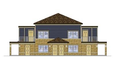 Building, Flagstone Village, 1