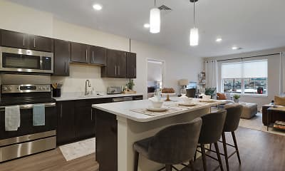 Kitchen, The Residences at Executive Park, 0