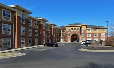Building, Furnished Studio - Kansas City - Overland Park - Quivira Rd., 0