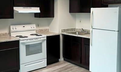 Kitchen, The Continental At Freehold, 1