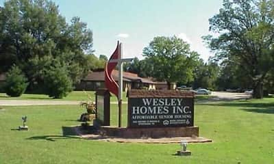 Community Signage, Wesley Homes Dyersburg, 0