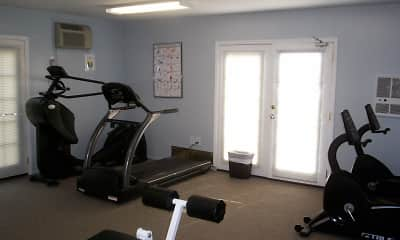 Fitness Weight Room, Woodbridge Center Plaza, 2