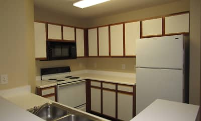 Kitchen, Crown Plaza Apartments, 2