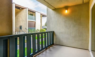 Patio / Deck, Crestview Apartments, 2