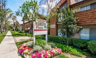 Community Signage, Amber Pines, 0