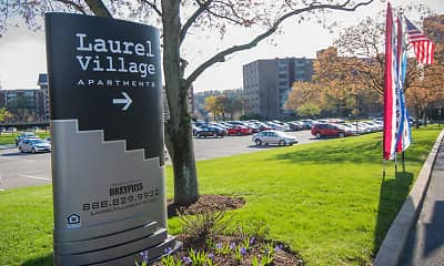 Community Signage, Laurel Village Apartments, 1