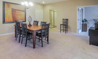 Dining Room, Harbour East Apartments, 1