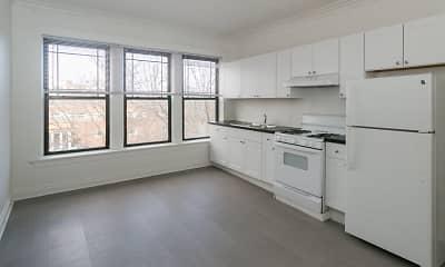 Kitchen, 5452-5466 S. Ellis Avenue, 1