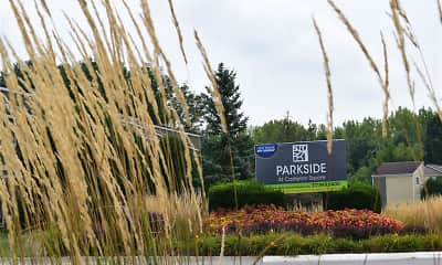 Community Signage, Parkside at Castleton Square, 0