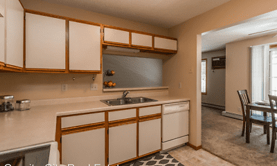 Kitchen, Wedgewood Apartments, 1