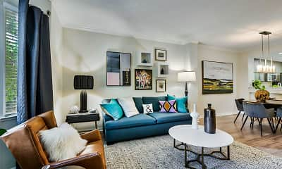 Living Room, One Pearl Place, 0