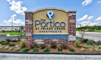 Community Signage, Portico at Friars Creek, 2