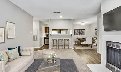 Living Room, Barrett Creek, 1