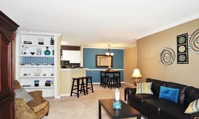 Living Room, Barrington On The Green, 2