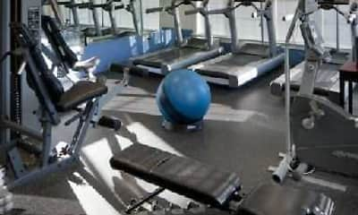 Fitness Weight Room, The Crest At Elm Tree, 2